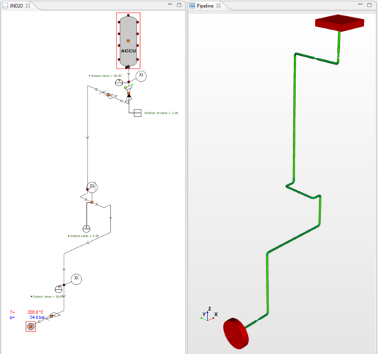 Apros Pipeline feature view